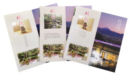 旅館・ホテルのパンフレット翻訳